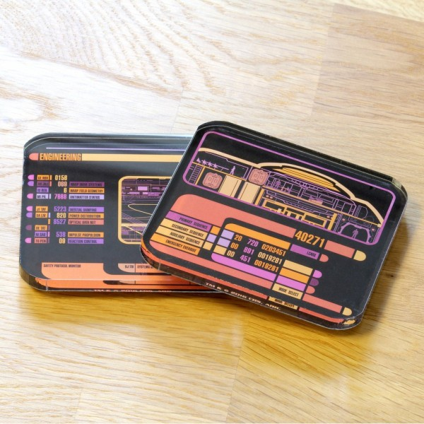 Coasters LCARS Star Trek