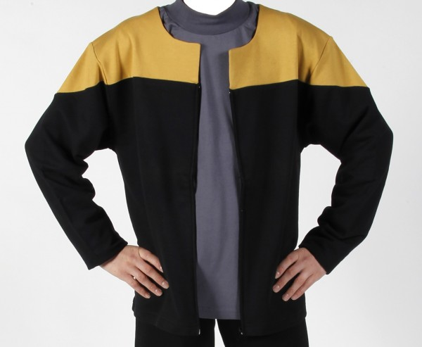 Voyager Uniform Jacket - Engineering Gold XXL - Cotton- Star Trek