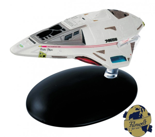 Starfleet Delta Flyer Star Trek model #38