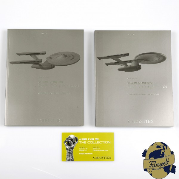 Christie´s Star Trek Auction Catalog set of 2 books