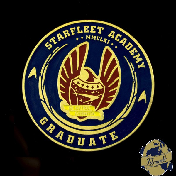 Starfleet Academy Challenge Graduation Coin 50 Years Edition