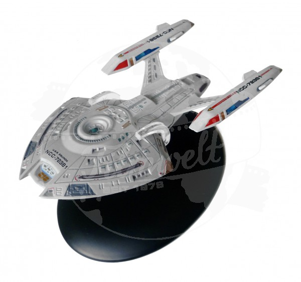 USS Equinox NCC-72381 starship model