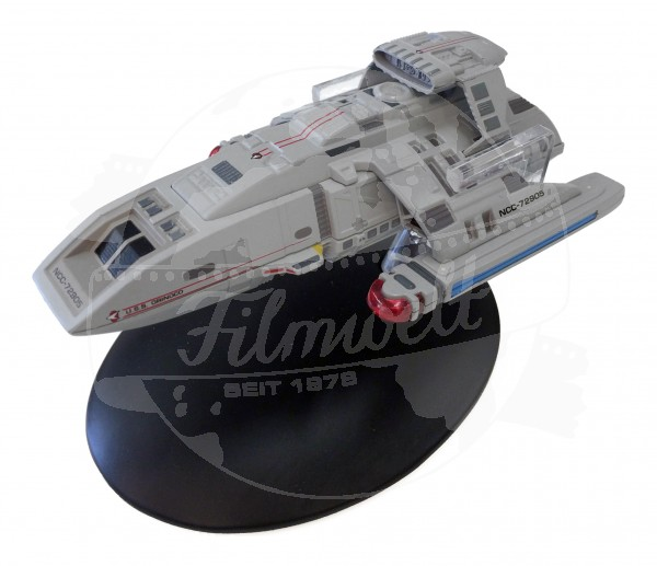 Starfleet Runabout starship model