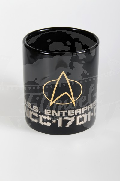 STAR TREK Mug - Communicator Logo U.S.S. Enterprise 1701-D -