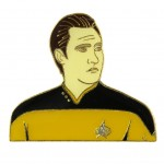 Data official Collectors Pin Star Trek Next Generation