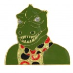 Gorn official Collectors Pin Star Trek