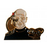 Locutus of Borg official Collectors Pin Star Trek Next Generation