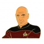 Captain Picard official Collectors Pin Star Trek Next Generation