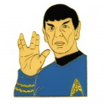 Mr Spock official Collectors Pin Star Trek