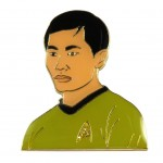 Sulu official Collectors Pin Star Trek
