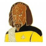 Worf official Collectors Pin Star Trek Next Generation