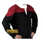 Voyager Uniform Shirt - Command Red - Deluxe - Star Trek