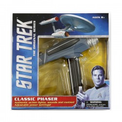 Classic Phaser with black handle - Star Trek