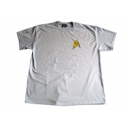 Blue Crew Shirt Science Destination Star Trek