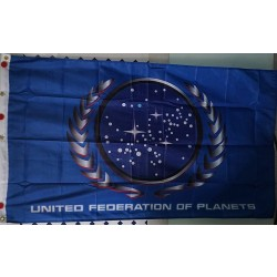 United Federation of Planets table flag - Star Trek