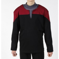 Voyager Uniform Shirt - Command Red XXL - Cotton - Star Trek