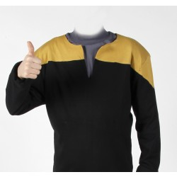 Voyager Uniform Shirt - Engineering Gold XXL - Cotton - Star Trek