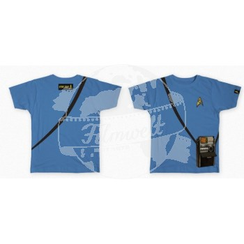 Star Trek 50 Anniversary Tricorder Shirt blue Shirt