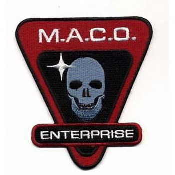 M.A.C.O.  Patch Star Trek Enterprise NX-01