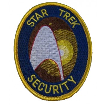 Security Uniform Patch - Star Trek