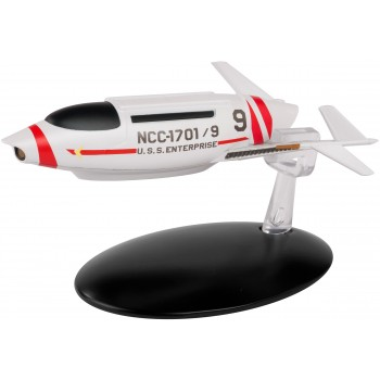 U.S.S Enterprise Shuttlecraft (Phase II Concept) Special EditionStar Trek starship model with Englisch magazine Eaglemoss