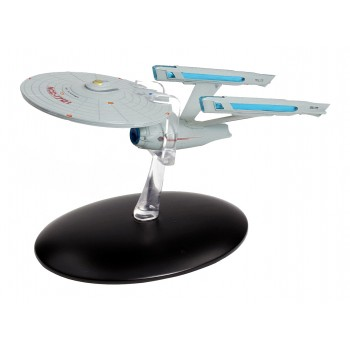 U.S.S. Enterprise NCC-1701 Refit starship model with english magazin #3 Eaglemoss Star Trek