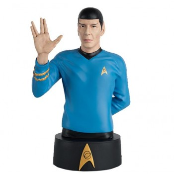 Mr. Spock Star Trek Bust model with Englisch magazine Eaglemoss