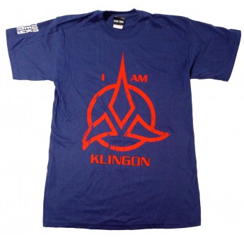 I am Klingon Shirt Star Trek