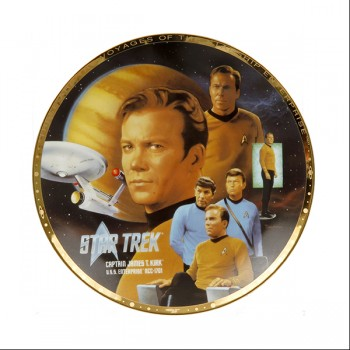 Decorative Plate Captain James T. Kirk