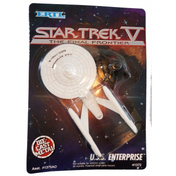 U.S.S. Enterprise 1701-A Starship Diecast model Star Trek - approx. 11 cm