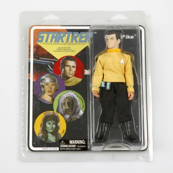 Capt. Pike - Retro Style Action Figur Star Trek