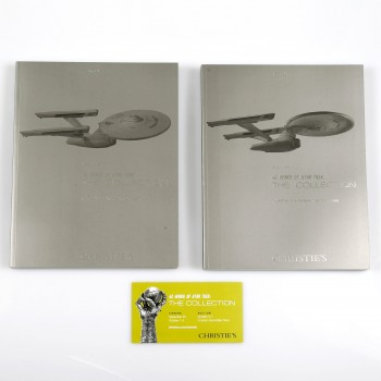 Christie´s Star Trek auction catalogue Set contains 2 books