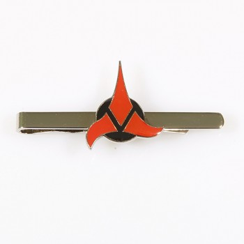 Tie Clip Klingon Badge Star Trek