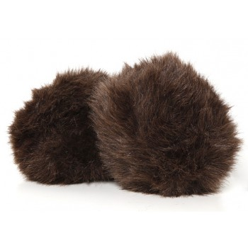 Star Trek Tribble large dark-brown - with sound