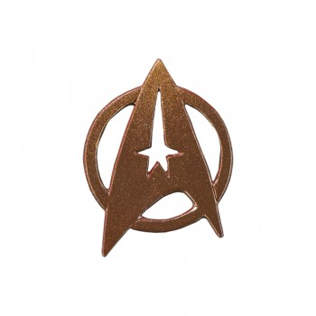 Federation enlisted rank pin Star Trek