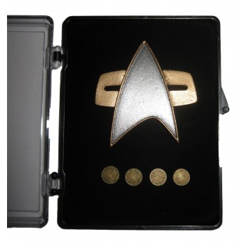 Rank Pin Set Voyager with Magnetic Rank Pins - Star Trek