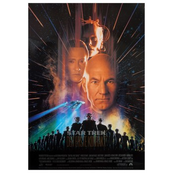 First Contact - Poster Star Trek