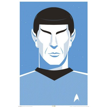 Spock Poster 50th Anniversary Star Trek