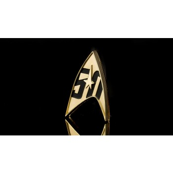 Magnetic Badge 50 years Star Trek - official Logo
