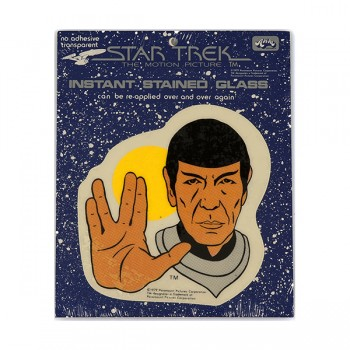 Window Picture Spock Vulcan Greeting - Star Trek Motin Picture