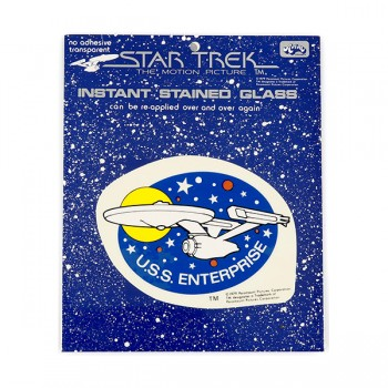 Window Picture Sticker U.S.S. Enterprise - Star Trek Motion Picture 1979