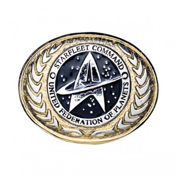 Belt Buckle United Federation of Planets Logo Star Trek