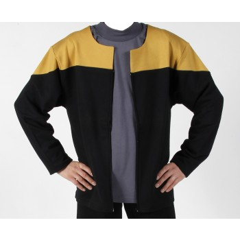 Voyager Uniform Jacket - Engineering Gold XL - Cotton- Star Trek