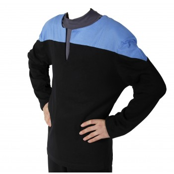 Voyager Uniform Shirt - Science Blue - Deluxe - Star Trek