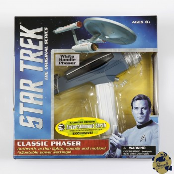 Star Trek Classic Phaser with white handle